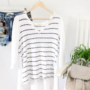Easy Breezy Knit Pullover