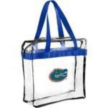 DCCKG8Q NCAA Florida Gators Forever Collectibles Clear Hand Tote Bag