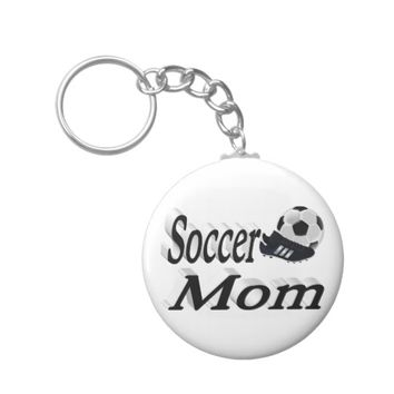 Soccer Mom 3D Key Chains