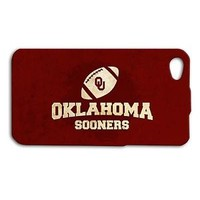 College Oklahoma Sooners Custom Cool Case iPhone Cover New Football Red Cute