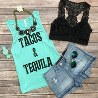 Tacos & Tequila Tank: Mint