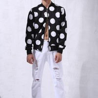 Dots Bomber Jacket