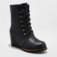 Women's Marisol Lace Up Wedge Hiker Boots - Merona™