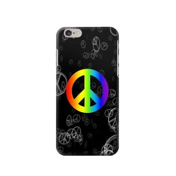 P2356 Peace Sign Phone Case For IPHONE 6S