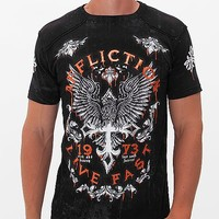 Affliction Discovery Rust T-Shirt