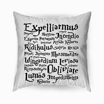Harry Potter Black Magic Spells - Pillowcases (18 x 18 ( two side ))