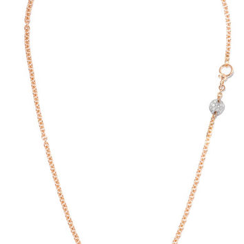 Pomellato - Sabbia 18-karat rose gold diamond necklace