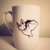 Halloween Bat Mug by Mr Teacup by MrTeacup on Etsy