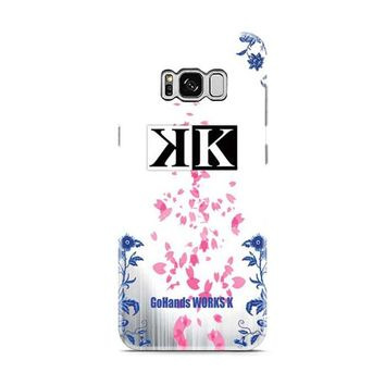 K Project logo floral wht bkg Samsung Galaxy S8 | Galaxy S8 Plus case