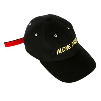 ALONE PARTY CAP black