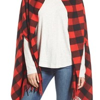 Madewell Buffalo Check Cape Scarf | Nordstrom