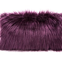 Wild Things Clutch Plum