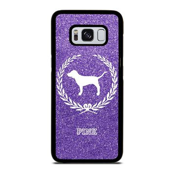 PINK DOG VICTORIA'S SECRET Samsung Galaxy S8 Case Cover