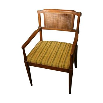 Pre-owned Cane-Back Captain Chair