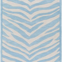 Leap Frog Animal Area Rug Blue, Neutral