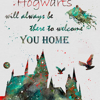 Harry Potter Hogwarts Quote