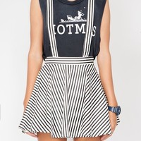 Stripe suspender skirt - Shop the latest Fashion Trends