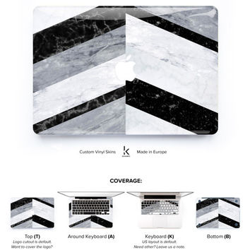 Marble Chevron Macbook Skin Macbook decal Laptop Decal Macbook Decal Macbook Skin Macbook Pro Skin Macbook Air Skin Macbook Cover Geometric