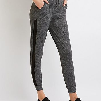 Mesh Inset Joggers | Charlotte Russe
