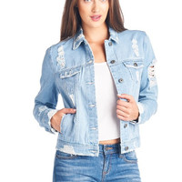 Blue Jean Denim Jacket