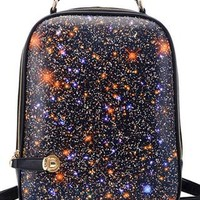 Leisure Punk Style Starry Sky Backpack