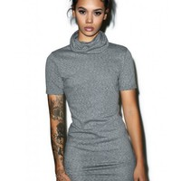 Glamorous I'll Call U Back Turtleneck Dress | Dolls Kill