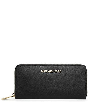 Michael Kors Women's New Fashion Travel Saffiano Leather Continental Wallet