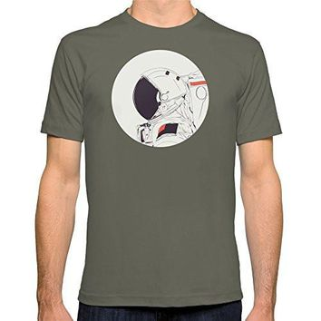 Astronaut Cotton T Shirt Men's