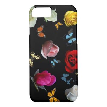 Rose Butterfies iPhone 8/7 Case