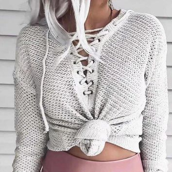 Knit Tops Sweater [62982062105]