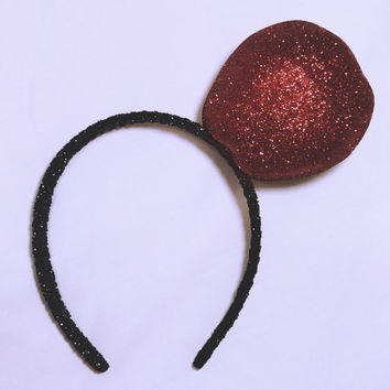 "xoCurlub ""Classic Red Apple"" Fruit Headband - Marina and the Diamonds FROOT Inspired Accessories"