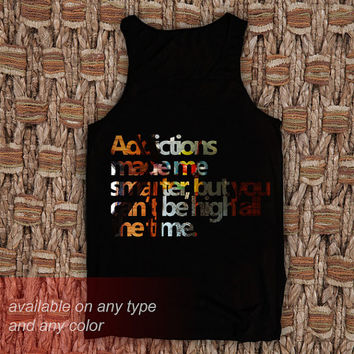 Additions Made Me Tanktop Casual Wear Sporty Cool Tank top Funny Tank Cute Direct to garment