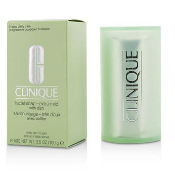 DCCKH0D CLINIQUE by Clinique Facial Soap -Extra Mild ( With Dish )--100g/3.5oz