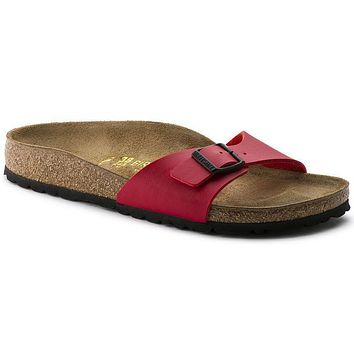 Birkenstock Madrid Birko Flor Cherry 0040741/0040743 Sandals - Best Deal Online