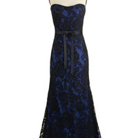 ModCloth Strapless Maxi Celeb Spectacular Dress