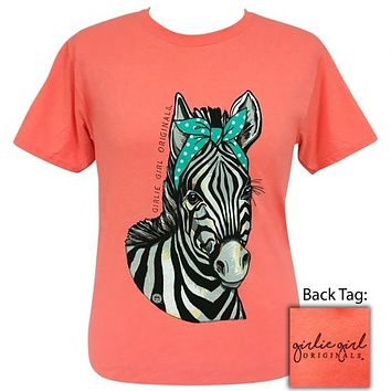 Girlie Girl Originals Preppy Bandana Zebra T-Shirt