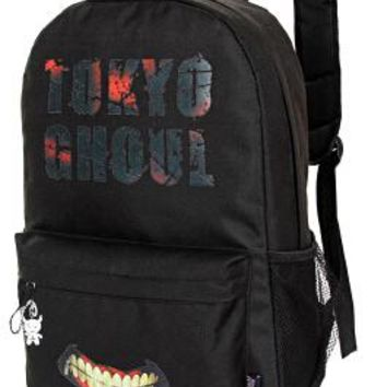 2017 new Harajuku ulzzang horror tokyo ghouls students backpack preppy style schoolbag men and women travel shoulder bag