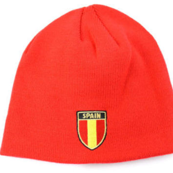 Puma Unisex Adult Country Spain Red World Cup Beanie Hat
