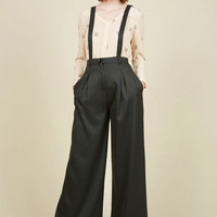 Conference Room Coffee Pants in Forest | Mod Retro Vintage Jackets | ModCloth.com