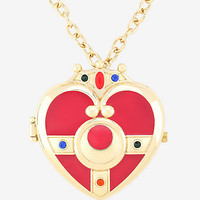 Sailor Moon Cosmic Heart Compact Locket Watch Necklace