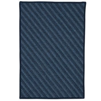 Colonial Mills Blue Hill BI51 Navy Contemporary Area Rug