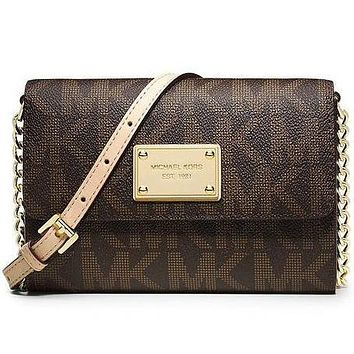 Perfect Michael Kors Women Fashion Shopping Leather Shoulder Bag Satchel Crossbody