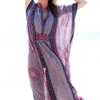 EmersonMade. ~ Butterfly Caftan