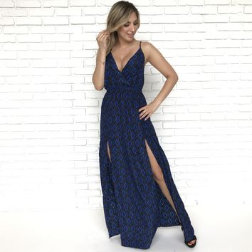 Cateye Maxi Dress