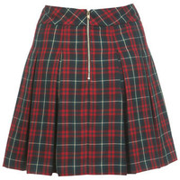 Check Kilt Skater Skirt - View All  - New In