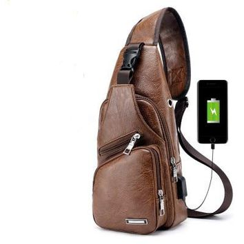 cc6df8609024 Large USB Charger Capacity Canvas Travel Bags Casual Men Hand Lu