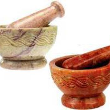 Celtic mortar & pestle set