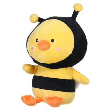 Stuffed Bee Chicken Style Plush Toy Ladybird Chicken Cloth Doll Pillow Cushion Kids Toy Gift