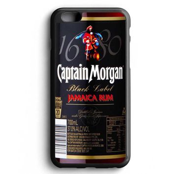 Custom Case Black Captain Morgan for iPhone Case & Samsung Case