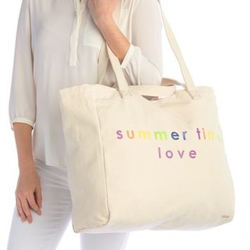 Peace Love World | Oversized Shopper Tote Bag | Nordstrom Rack